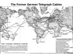 the former german telegraph cables