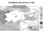 the mideast after sevres in 1920