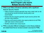 2 factor authentication enclave design multi program labs require multiple security policies