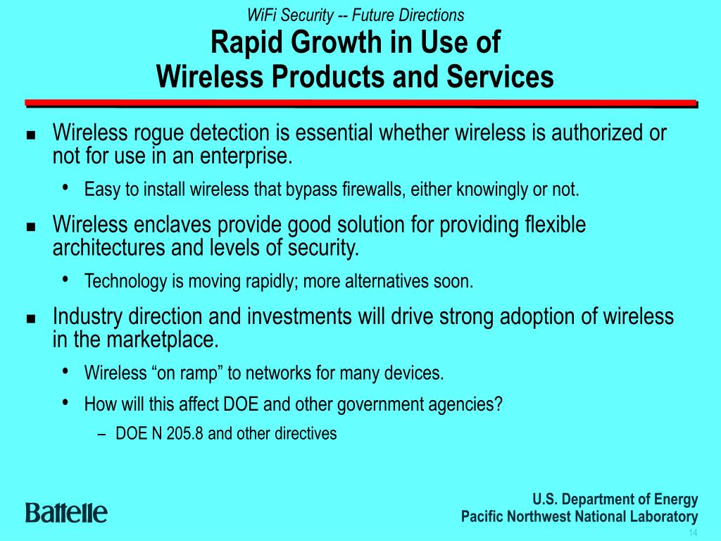 WiFi Security -- Future Directions