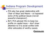 indiana program development2