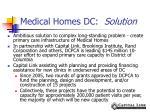 medical homes dc solution