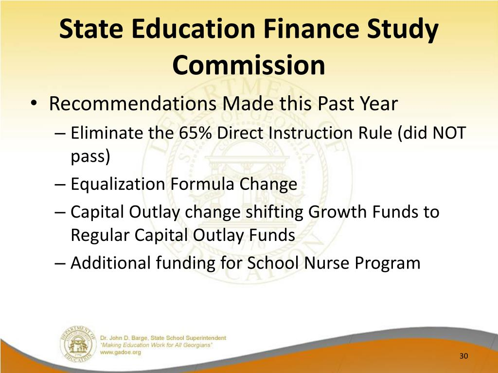 State Education Finance Study Commission