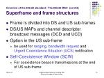 overview of the 802 22 standard the 802 22 mac cont d superframe and frame structures16