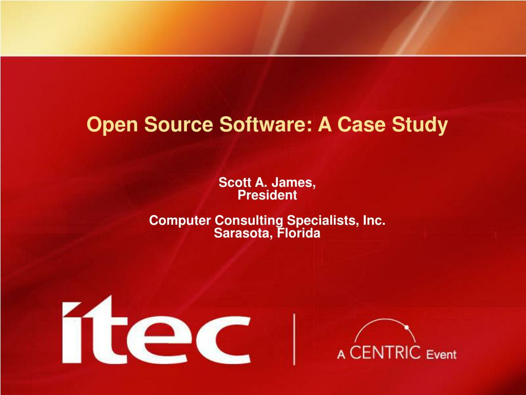 open source software a case study l.