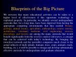 blueprints of the big picture