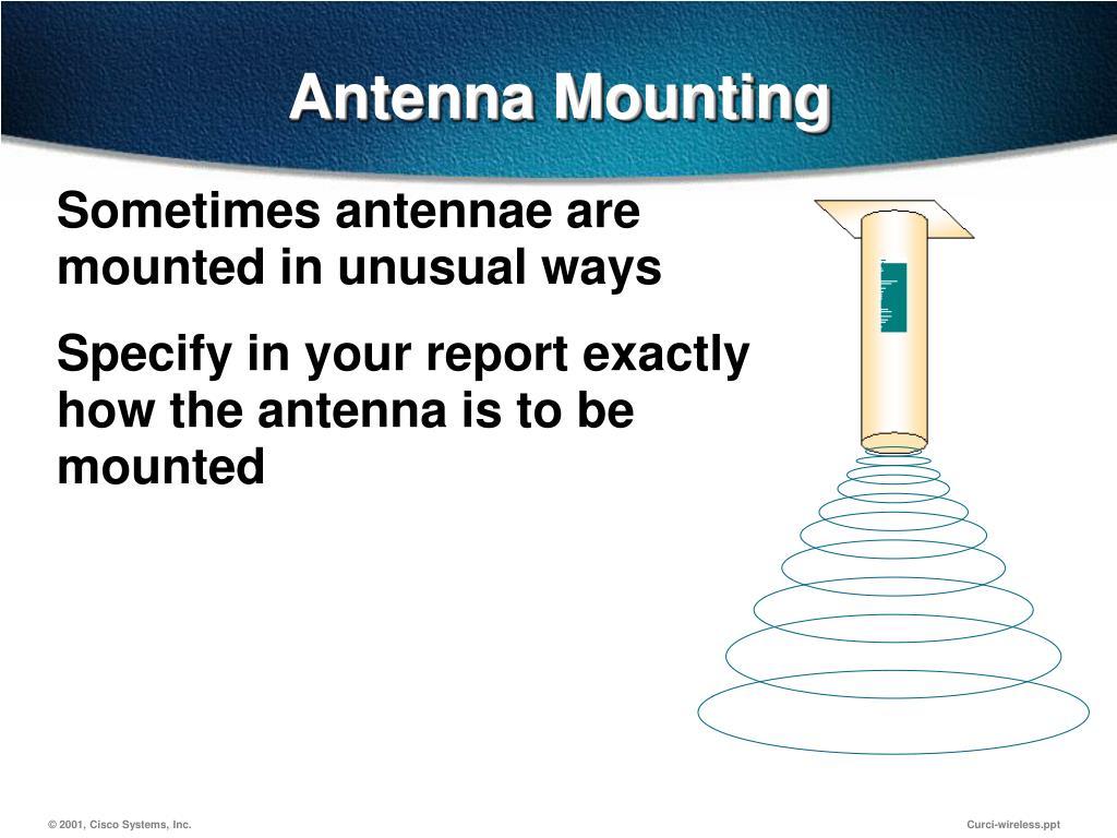 Antenna Mounting