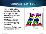 channels 802 11 ds