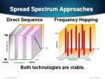 spread spectrum approaches