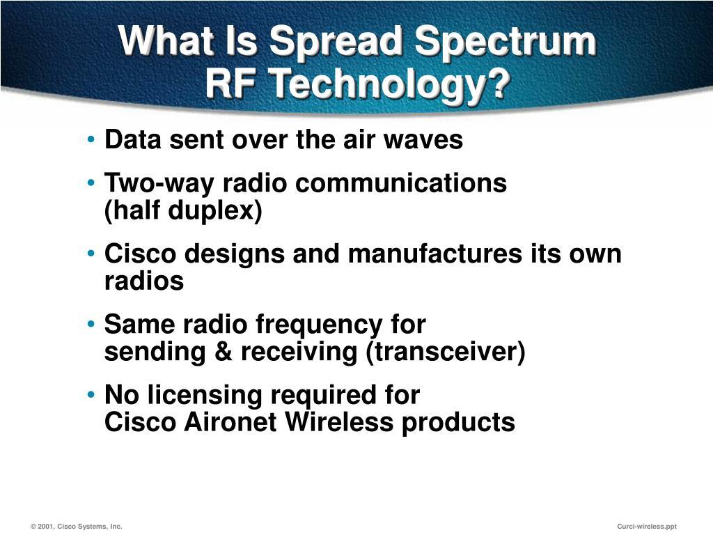 What Is Spread Spectrum