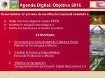 agenda digital objetivo 2015
