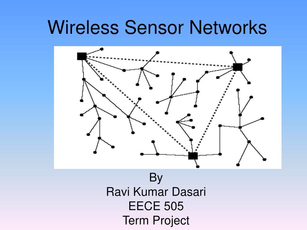 wireless sensor networks l.