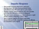 impulse response