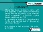 stabilisers