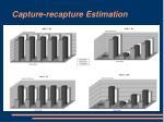 capture recapture estimation9