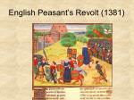 english peasant s revolt 1381