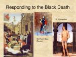 responding to the black death