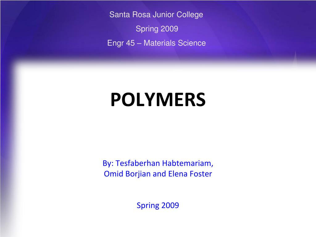 polymers l.