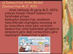 a democritus atom modeli democritus m 400