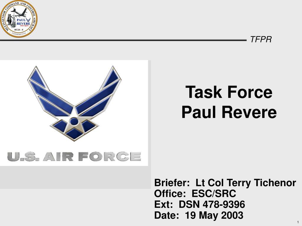 task force paul revere l.