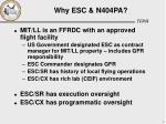 why esc n404pa