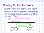 routing protocol basics