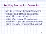 routing protocol beaconing