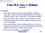 case 10 1 lucy v zehmer intention