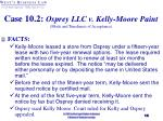 case 10 2 osprey llc v kelly moore paint mode and timeliness of acceptance