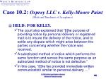 case 10 2 osprey llc v kelly moore paint mode and timeliness of acceptance19