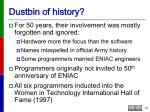dustbin of history