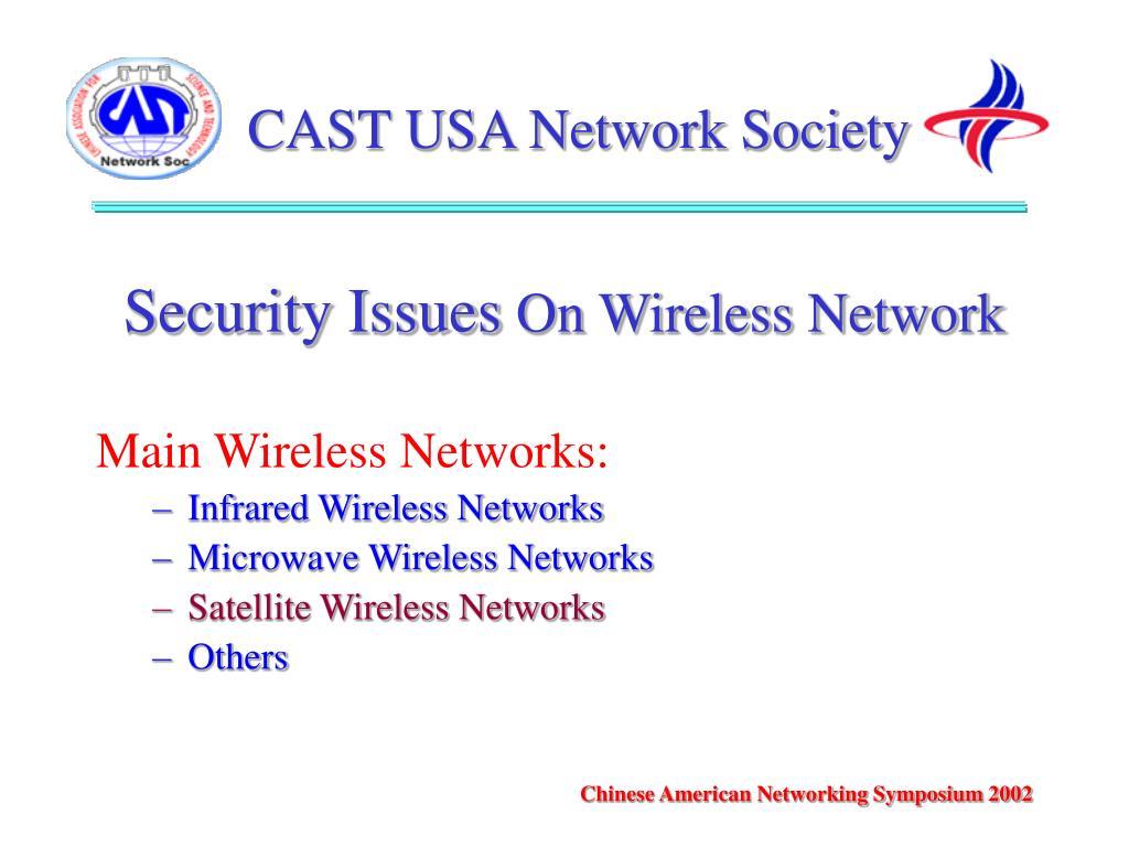 CAST USA Network Society
