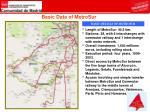basic data of metrosur