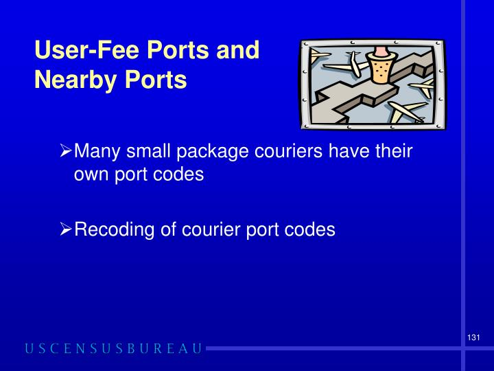 User-Fee Ports and