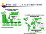 fast facts cellular subscribers