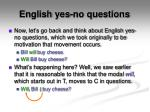 english yes no questions