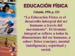 educaci n f sica calzada 1996 p 123