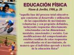 educaci n f sica nixon jewllet 1980 p 28