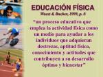 educaci n f sica wuest bucher 1999 p 8