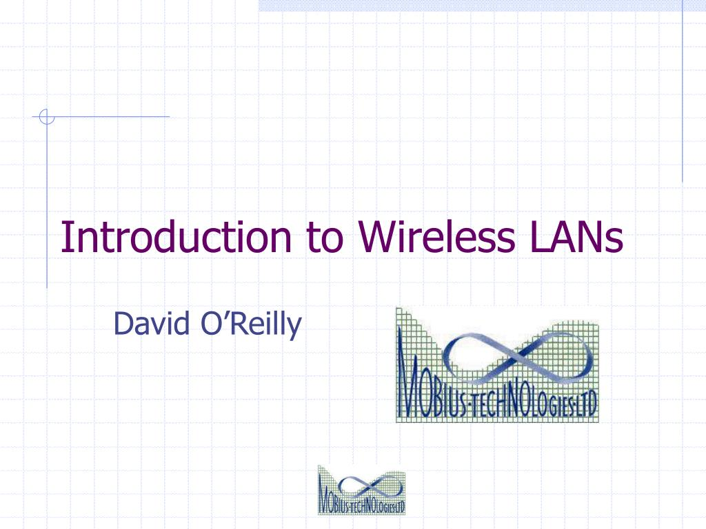 introduction to wireless lans l.