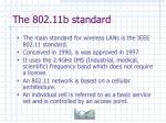 the 802 11b standard7