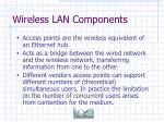 wireless lan components20