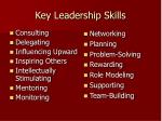 key leadership skills