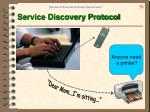 service discovery protocol
