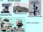 military radars