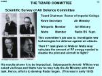 the tizard committee