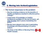2 moving into action legislation