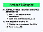process strategies