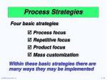 process strategies13