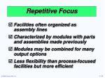repetitive focus